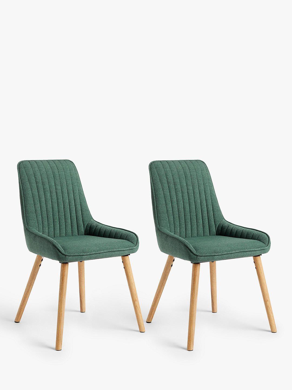 John Lewis & Partners Toronto Side Dining Chairs, Set of 4, Grey