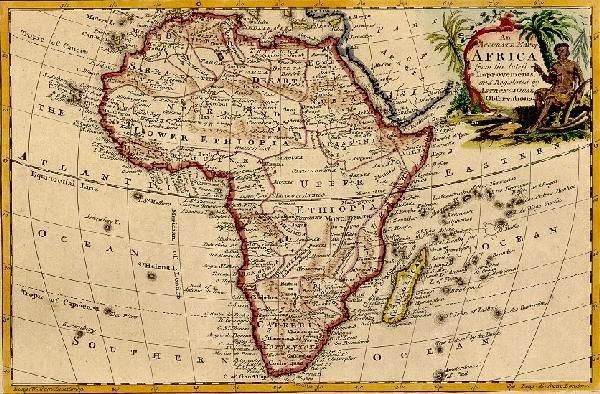 Ancient map of africa black world history pinterest ancient ancient map of africa gumiabroncs Choice Image