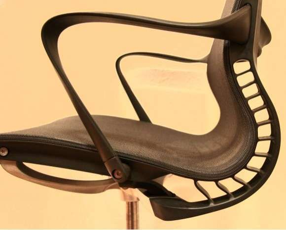Schon Super Comfortable Office Seating  The Herman Chair Designed To Adjust To  The User