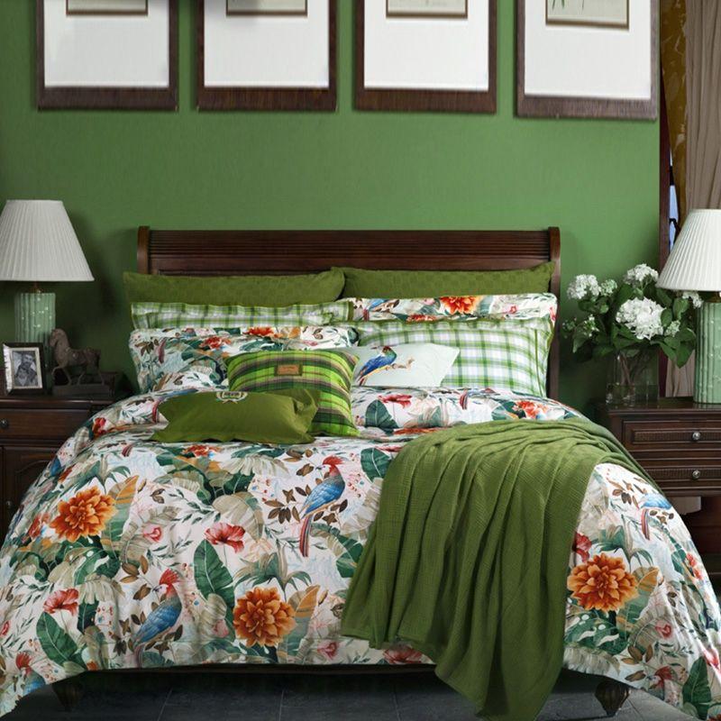 cover duvet leaf bedding linenstar tropical botanical sizes set floral product modern all quilt covers