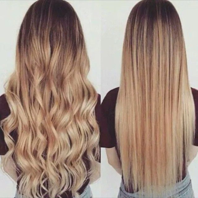 Mulpix cheveux lisse ou boucl e blonde brune ch tains for Balayage tie and dye maison