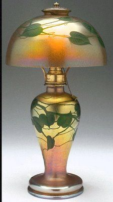 Gorgeous Louis Comfort Tiffany Lamp!