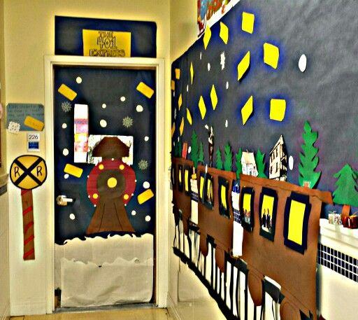 Holiday Door Decorating Theme: The Polar Express ... My ...