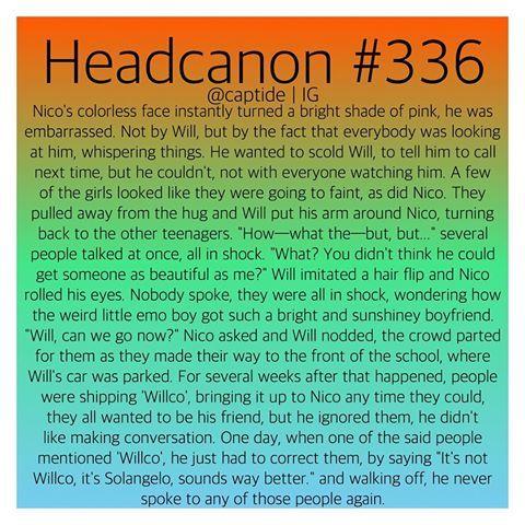 Image Result For Solangelo Headcanons Percy Jackson Head Canon