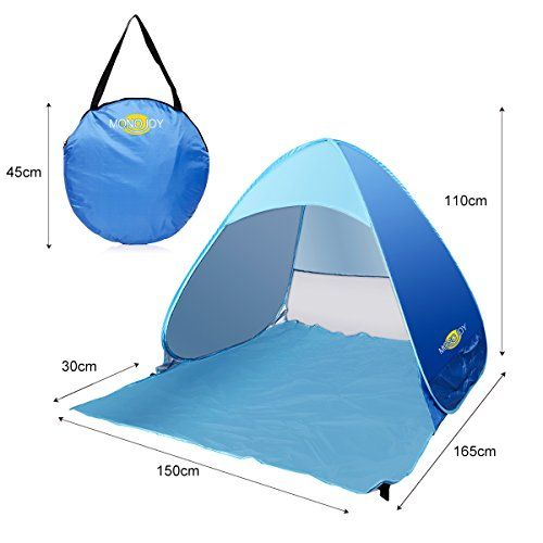 Portable Outdoor Automatic Popup Beach Tent Uv Protective 23 Person C&ing Fishing Picnic Hiking Sets up  sc 1 st  Pinterest & Portable Outdoor Automatic Popup Beach Tent Uv Protective 23 ...