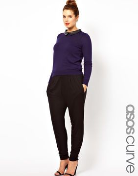 70c95879 ASOS CURVE Peg Pants In Jersey on shopstyle.com | What to wear | Peg ...