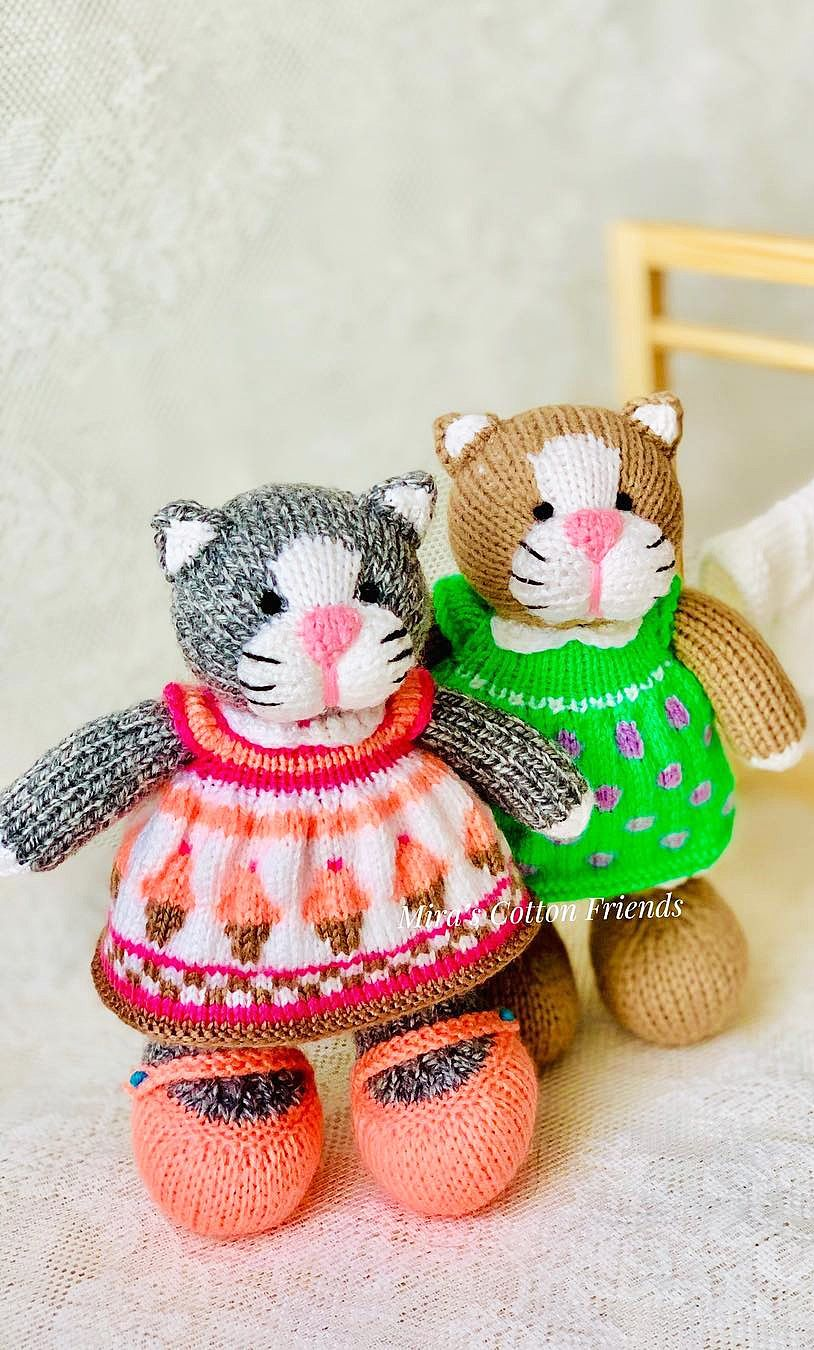 Amigurumi Cats Free Crochet Pattern (With images) | Crochet ... | 1350x814