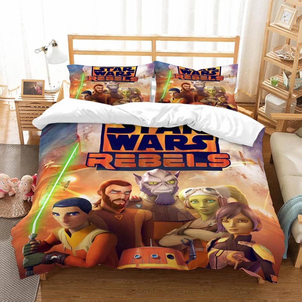 3D Customize Star Wars Rebels Bedding Set Duvet Cover Set