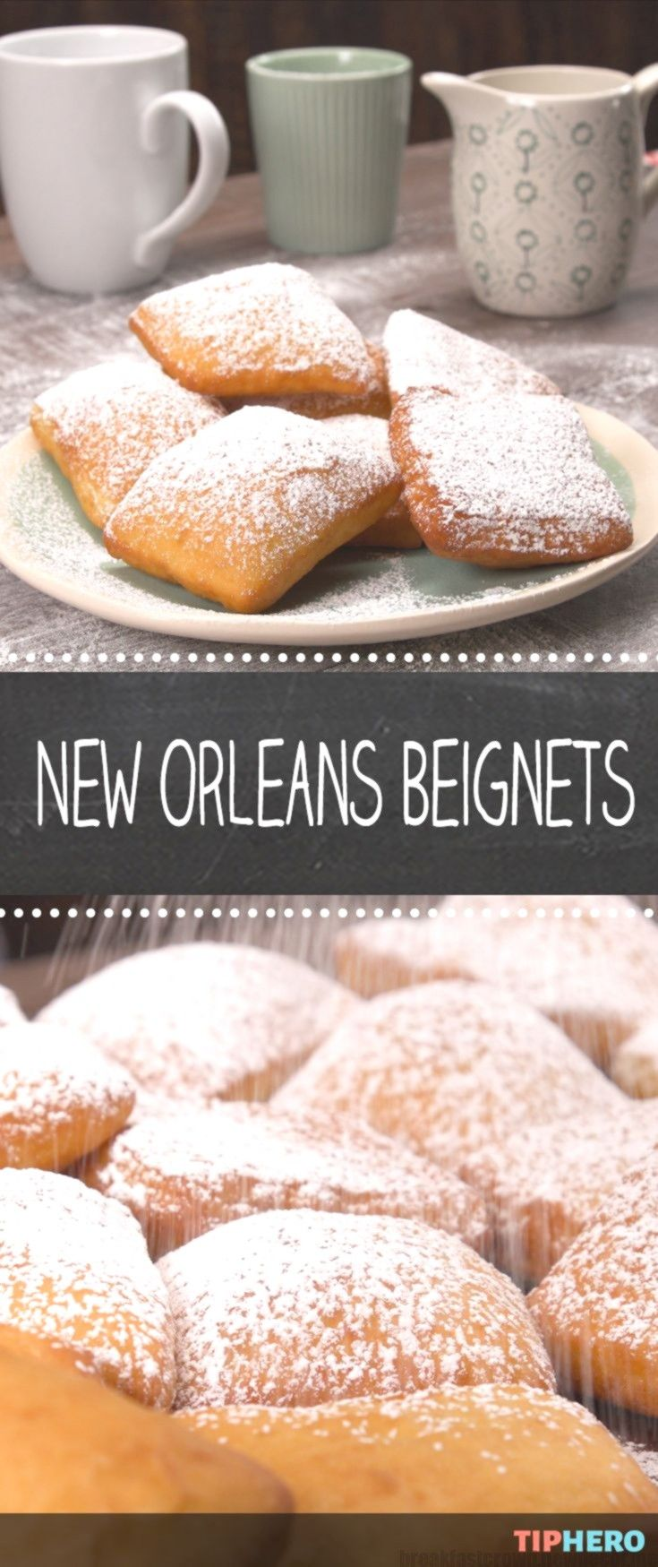 New Orleans Beignets We'll show you how to make pillowy, powdered sugar-cove... New Orleans Beignets We'll show you how to make pillowy, powdered sugar-cove...