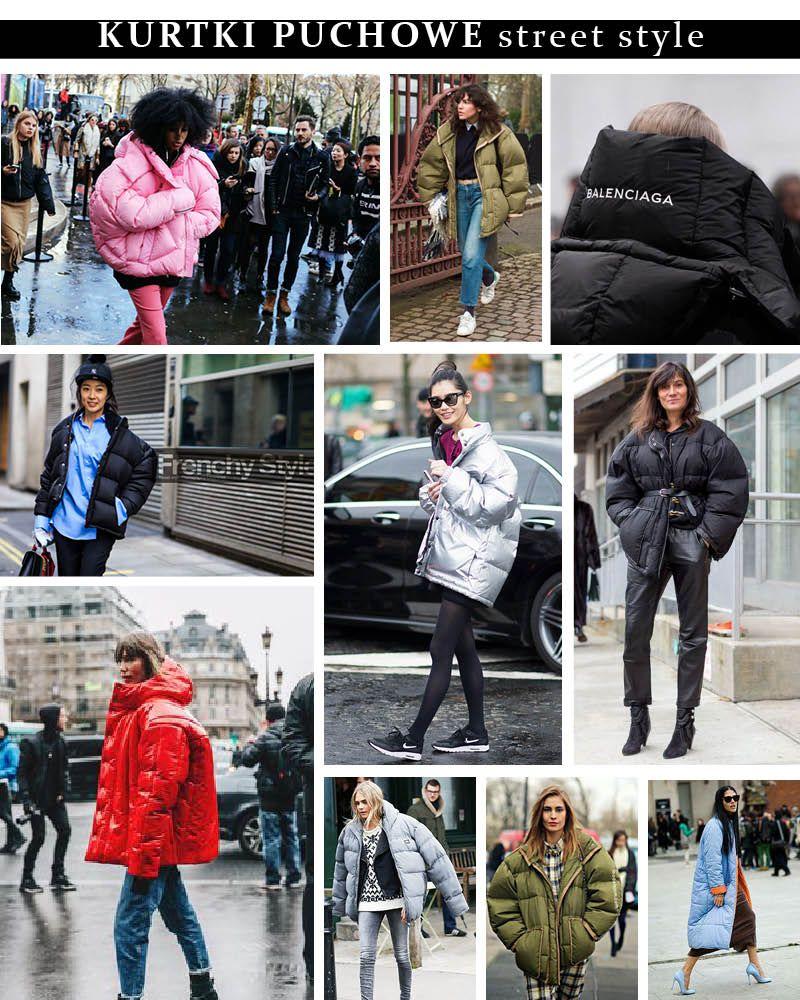 Najlepszy Wybor Na Mroz Duze Kurtki Puchowe Street Style Fashion Style