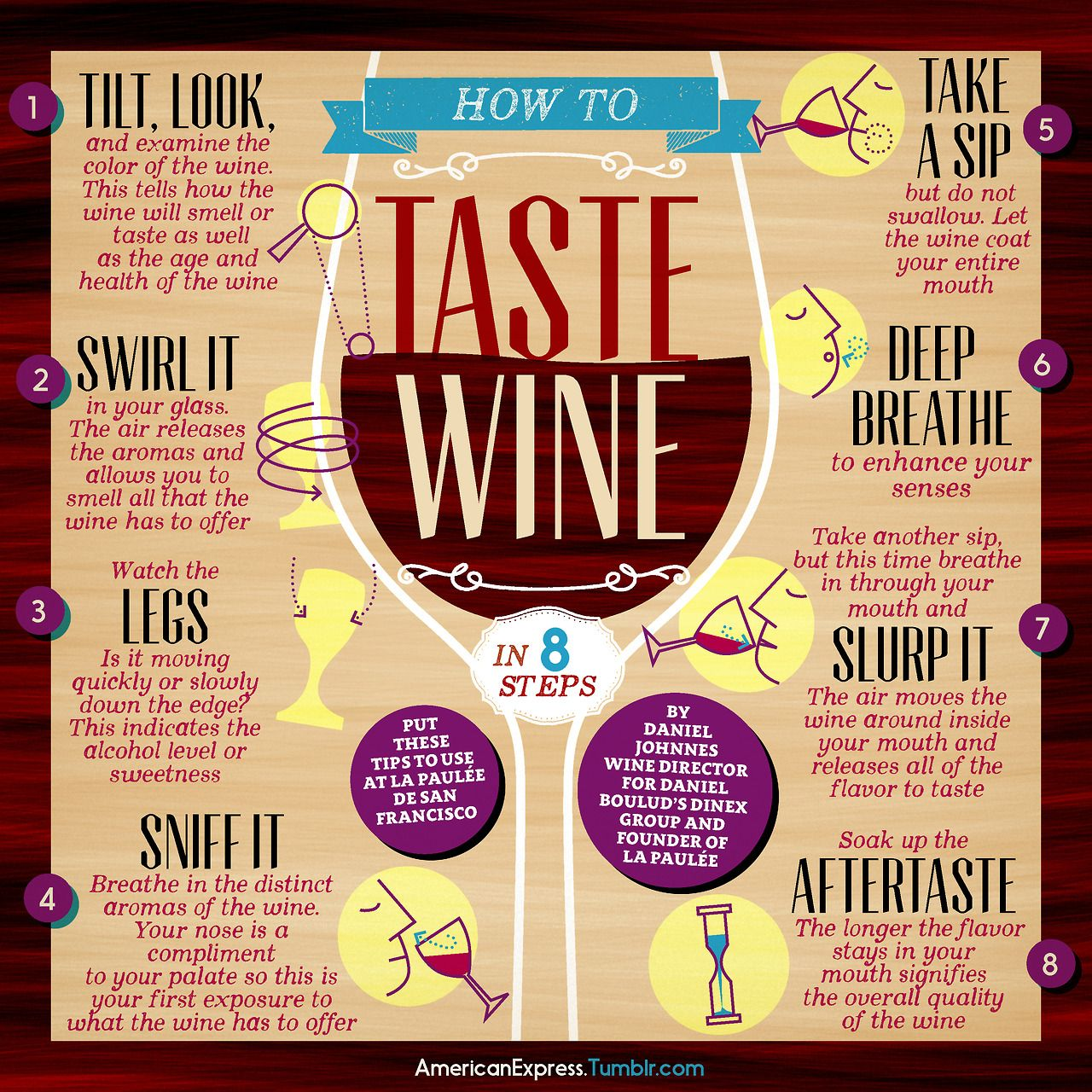 the tips on how to taste wine Watch more wine 101 videos: learn how to taste wine like a pro with these tips from wine expert gary v.