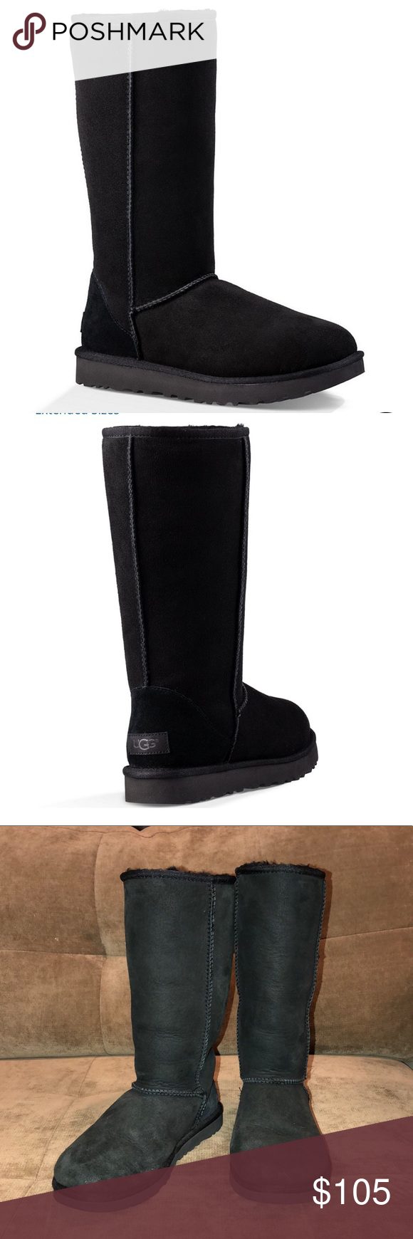 c8f06c213fad Black Classic Knee High UGG Boots From UGG®