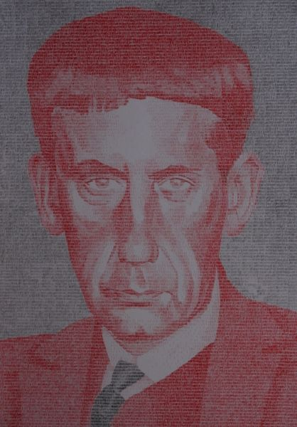 Gonzalo Elvira. W.G. 2016. Tinta china sobre papel. 70 x 50 cm.