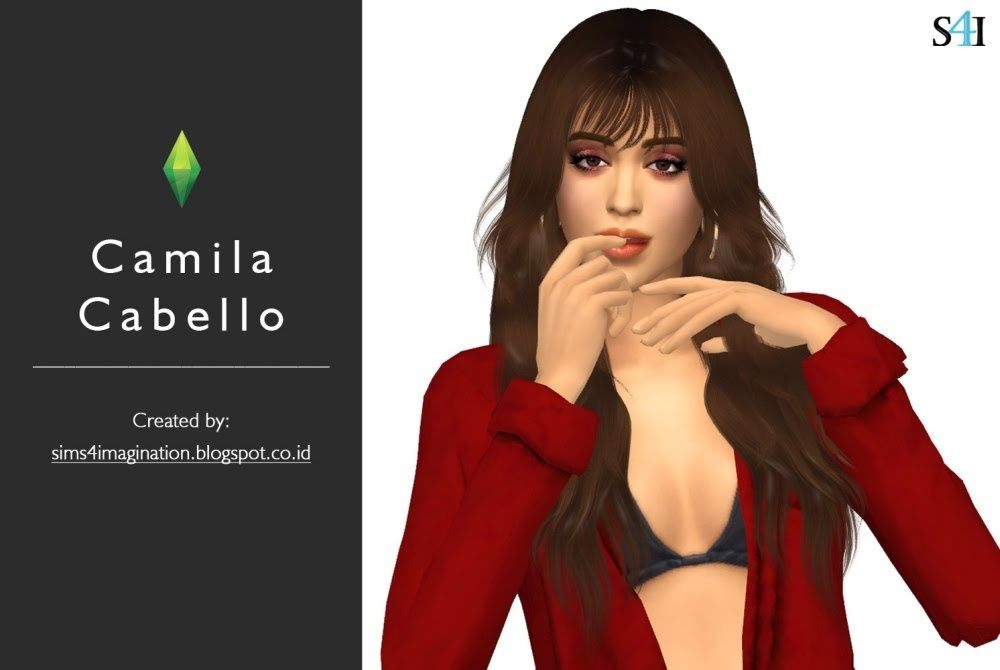 9dc6d865d5 Sims of American Singer Star s Camila Cabello. If you want the same image  from CAS