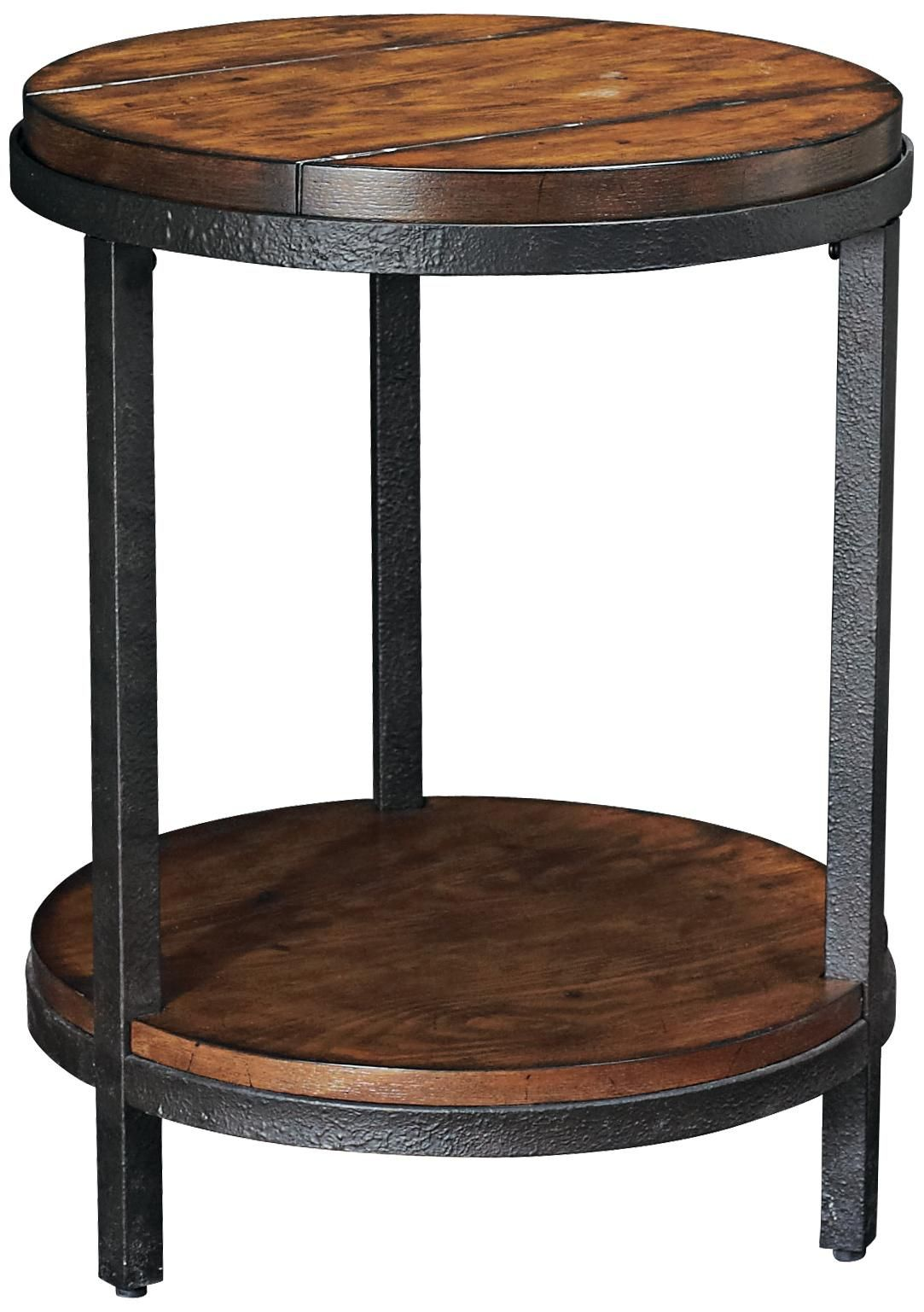 Hammary Baja 18 Wide Round Wood End Table 2f916 Lamps Plus End Tables Side Table Wood End Tables [ 1537 x 1083 Pixel ]