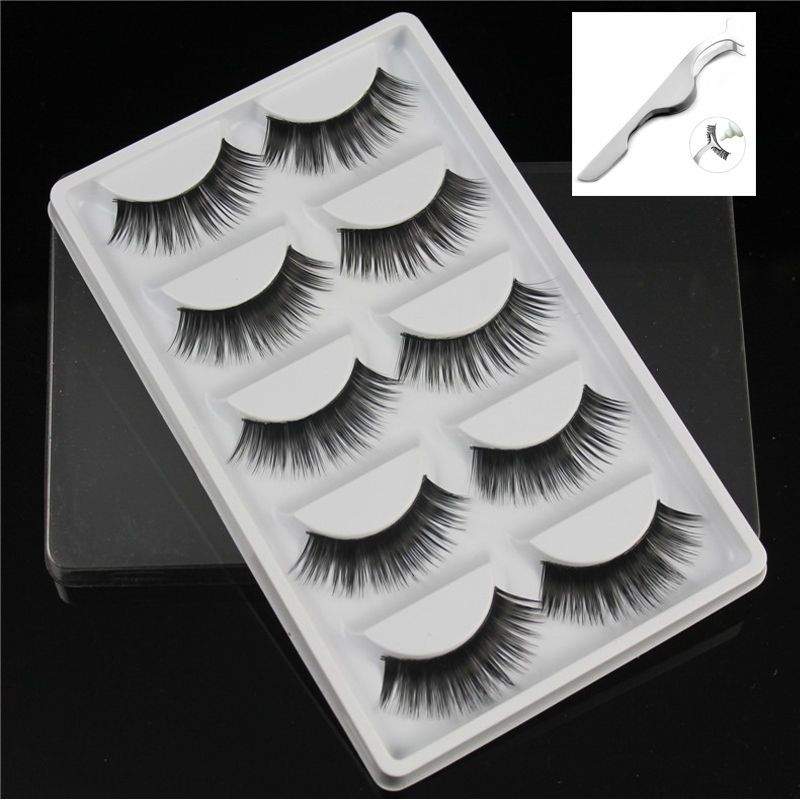 bbf35388c0c $1.0 AUD - 5 Pair Soft Makeup False Eyelashes Long Thick Natural Eye Lashes  Extension Hot #ebay #Fashion