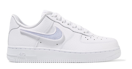 NIKE Air Force 1 100 wandelbare Sneakers aus strukturiertem
