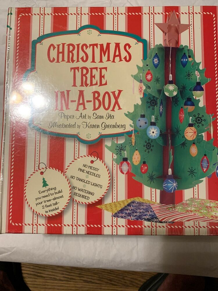 Sterling Christmas Tree In A Box Craft Kit Christmas Tree Is 2 Feet Tall Nib Sterling Christmas Tree Box Missionary Christmas Packages Missionary Gifts