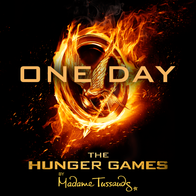 There's only 1 day left until we launch our brand new wax figure of Katniss Everdeen!