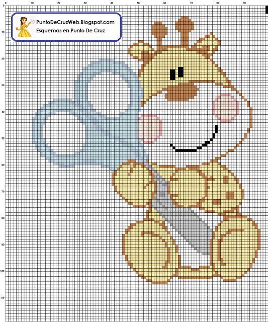 Jirafas punto de cruz patrones - Imagui | Cross Stitch | Pinterest ...