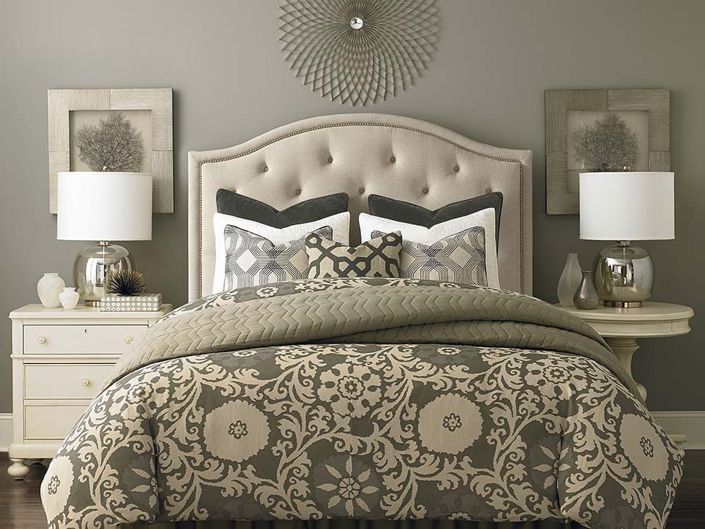 Custom Uph Beds Vienna Arched Headboard Custom Headboard