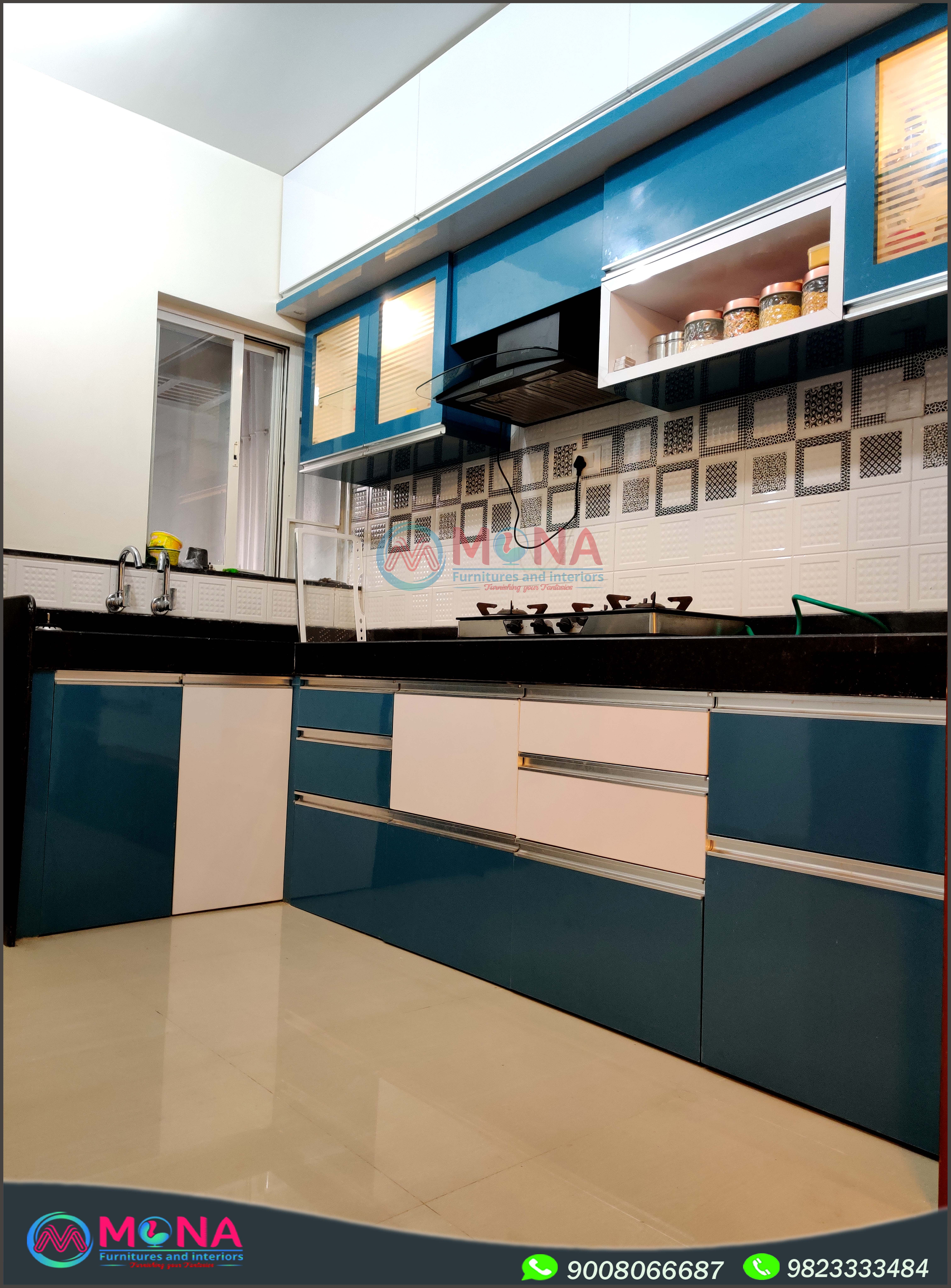 Modular kitchen design   Küchendesign