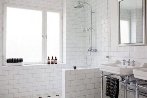 <3 aménagement de la salle de bain & all white