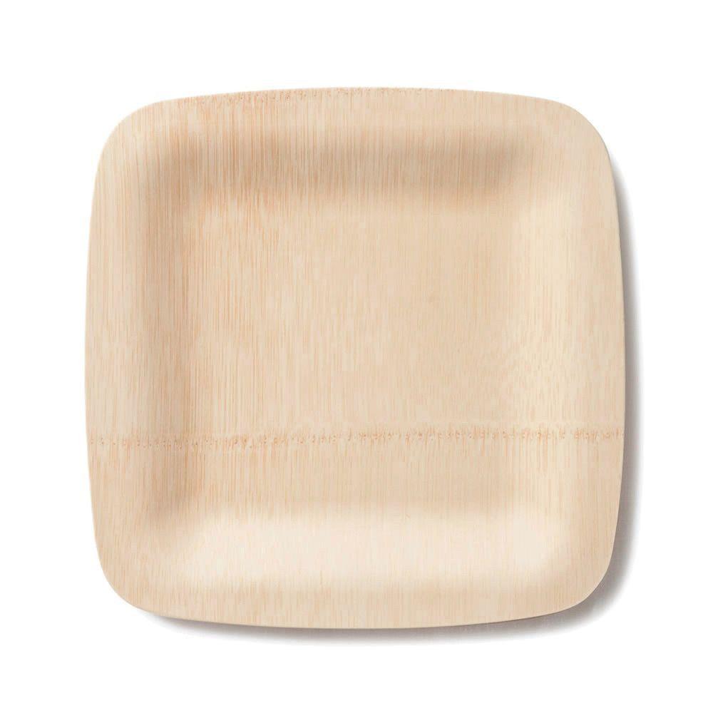 Bambu Veneerware® Disposable Bamboo Square Plates  sc 1 st  Pinterest & All Occasion Veneerware® Bamboo Plates Square | Square plates ...