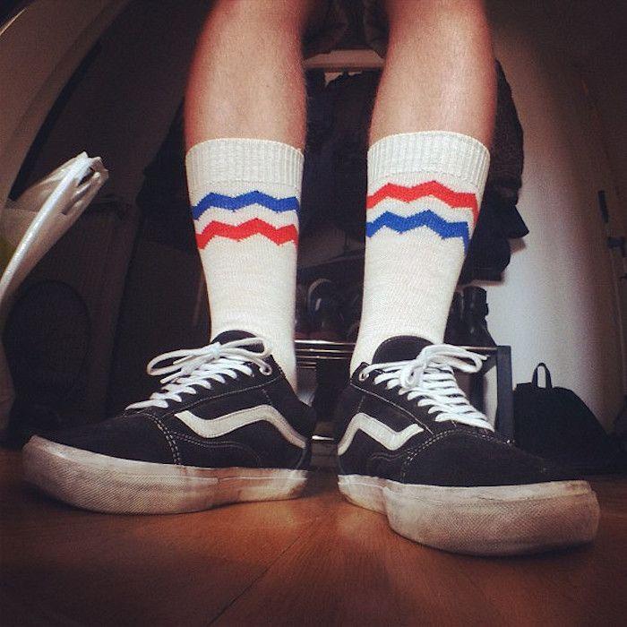 chaussette femme vans
