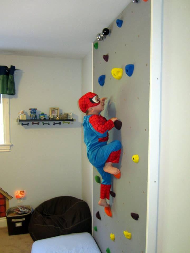 Diy kids climbing wall i love this indoor climbing wall