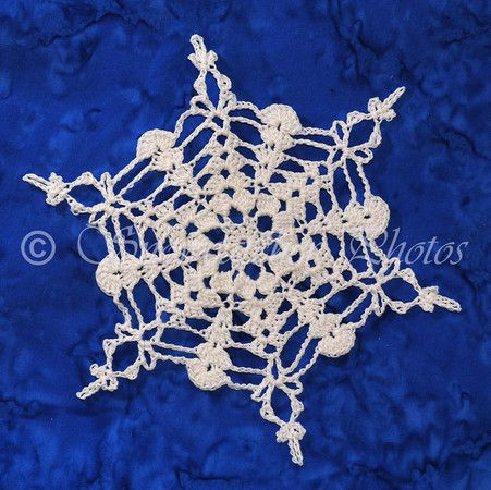 Mele Al Forno Ripiene Snowflake Free Pattern Knitting Crochet