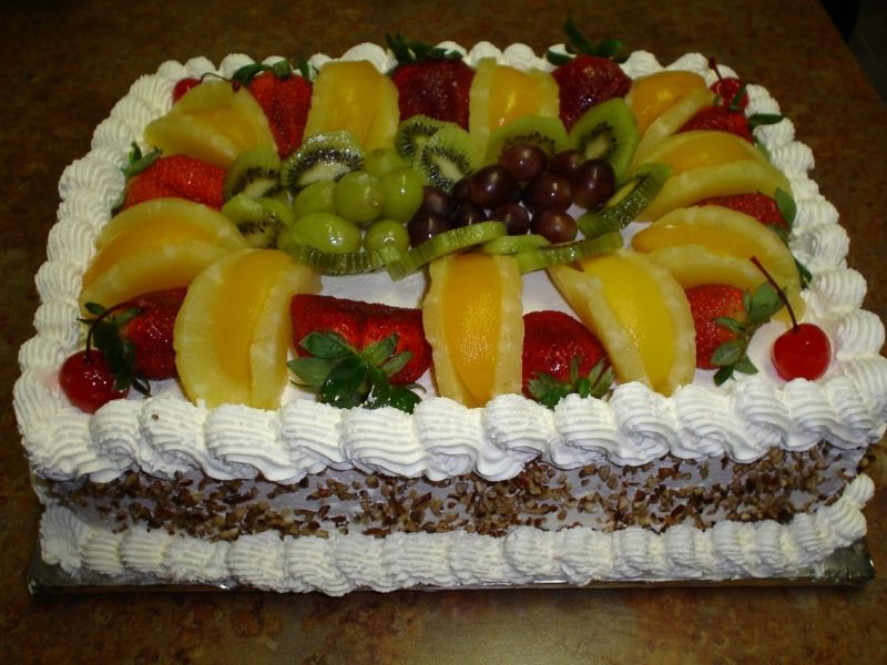 Fresh Fruit Cake Toppers | Food and Drink | Pinterest | Fresh fruit ...