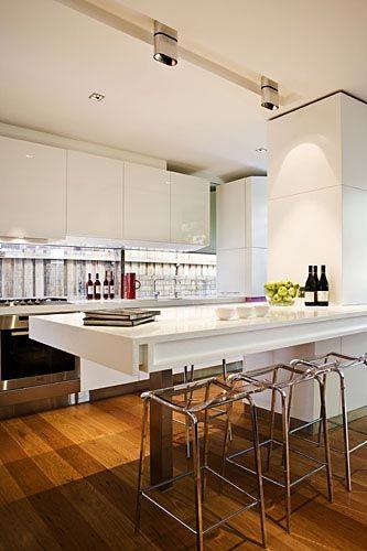 Floating Peninsula Peninsula Kitchen Design Kitchen
