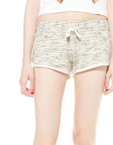 BSK plush shorts