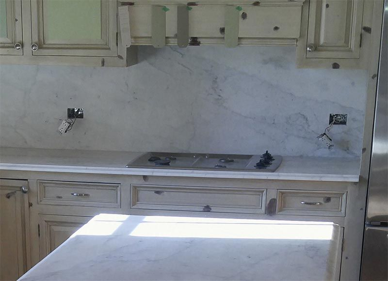 Super White Quartzite Countertops Has The Look Of Marble With Durability Granite Chicago Il Mn In
