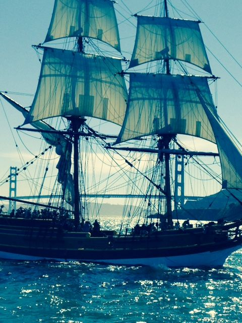 Sail And Savour Washington S San Juan Islands: A Blue Lady Washington In San Francisco Bay With The