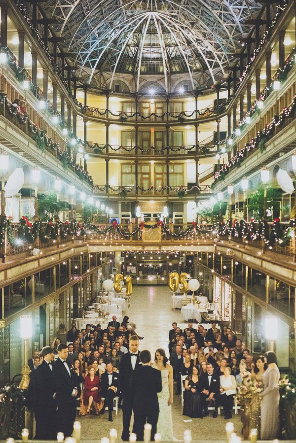 New years eve cleveland wedding wedding venues pinterest the cleveland arcade photo by suzuran photography httpruffledblognew years eve cleveland wedding venues weddingceremony ceremony junglespirit Images