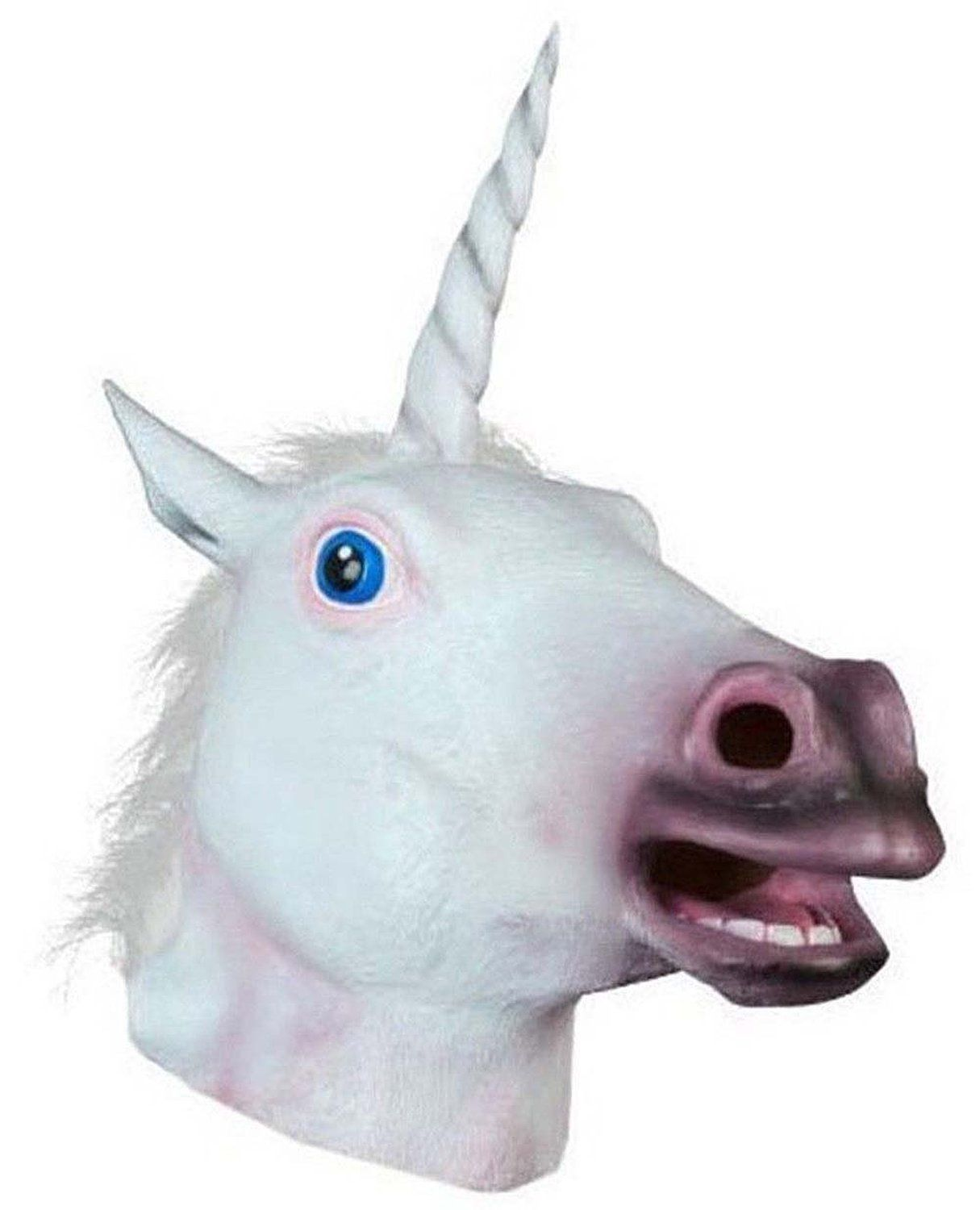 Amazon.com: Miyaya® Horse Mask, Unicorn Mask Collection (Unicorn ...