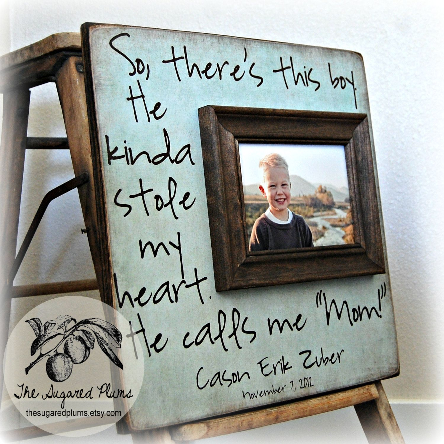 Mothers Day Gift Picture Frames Gift for Mom from Kids \'So There\'s ...