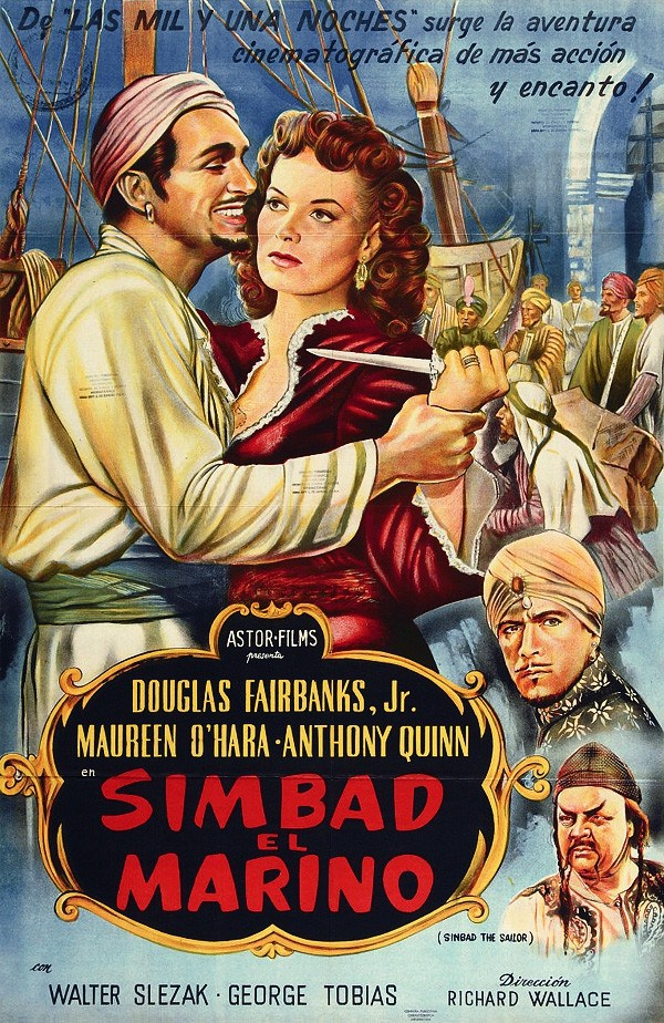 International poster for Sinbad the Sailor