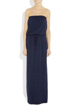 Splendid navy maxi dress. Easy.