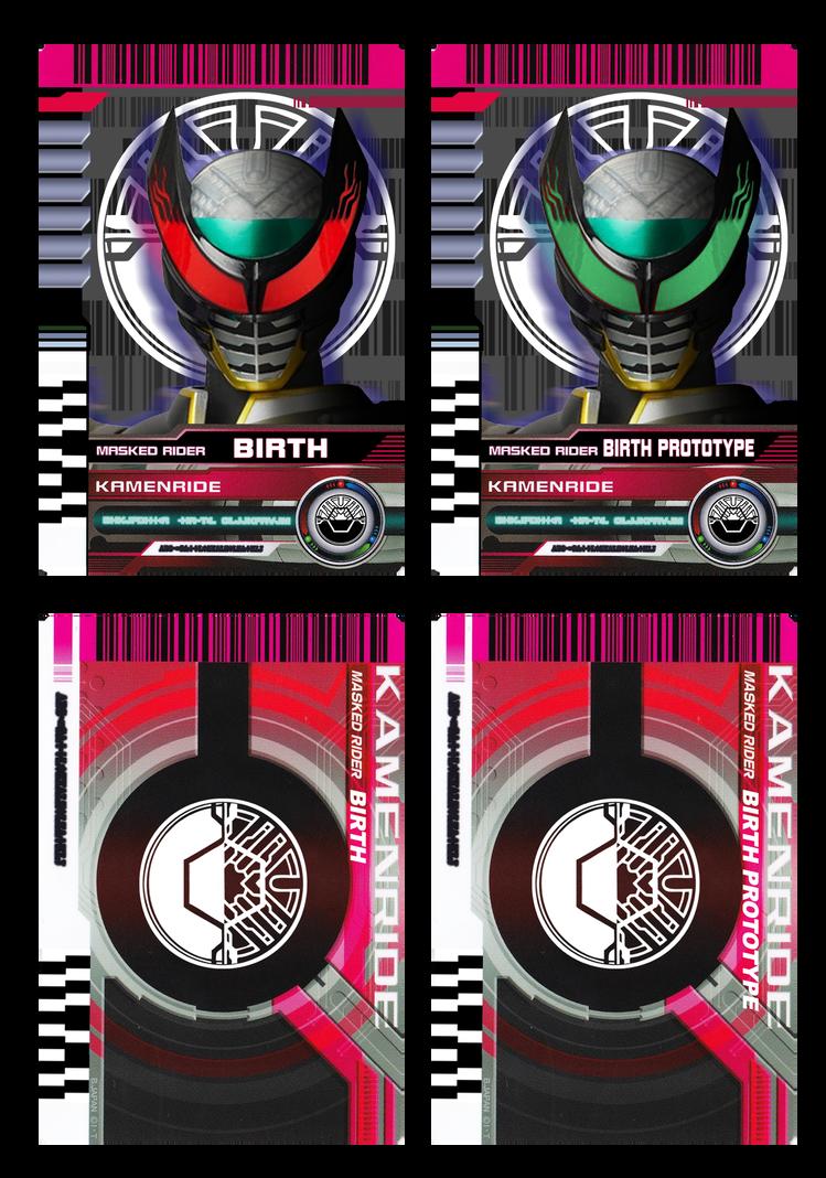 Kamen Rider Birth Prototype By Readingismagic Kamen Rider Kamen Rider Decade Kamen Rider Ooo