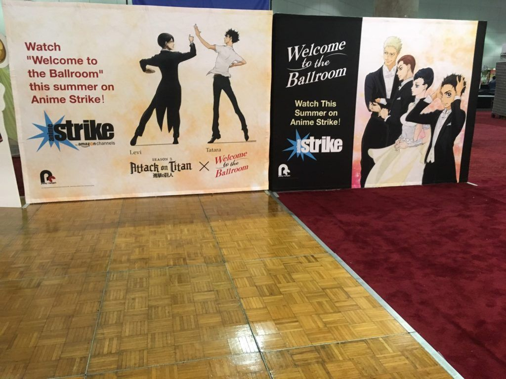Tv Anime Welcome To The Ballroom Anime Expo Official Report