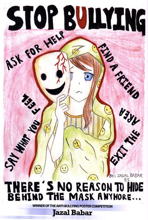 Assez Bullying poster Winner Web.jpg (500×744) | enspire | Pinterest  OK11