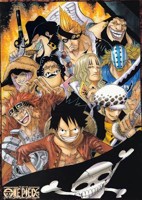 500+ Daftar Karakter Manga/Anime One Piece Terbaru