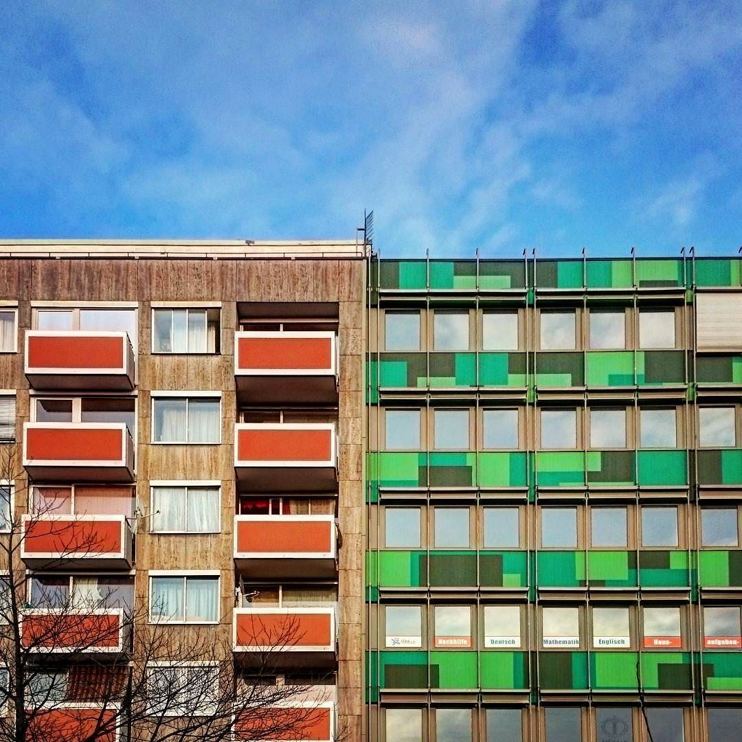 Ollismove On Instagram Coloured City Urban Offenbach Germany Coloured Street Green Blue Orange Igersoffenbach A Instagram City Instagram Posts