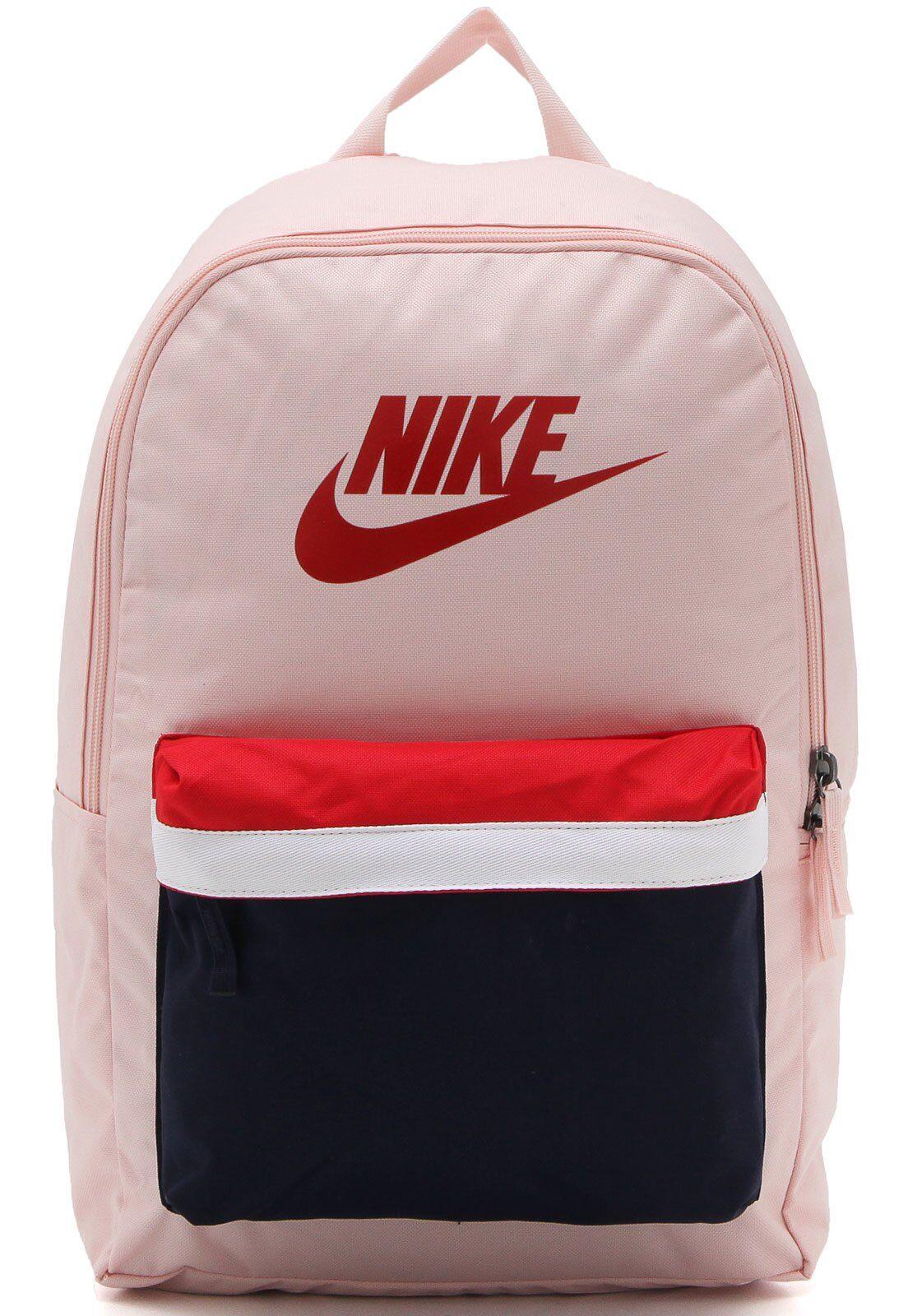 Mochila Nike Sportswear Nk Heritage Bkpk 2.0 Rosa em 2020