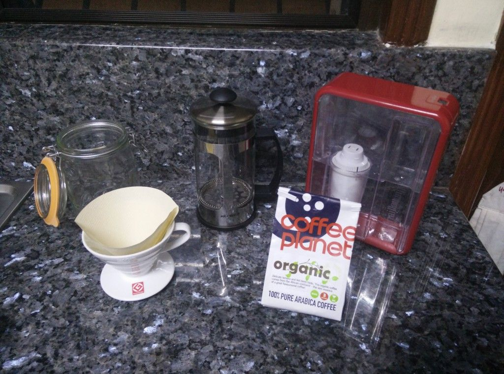 Preparation for Cold Brew Coffee