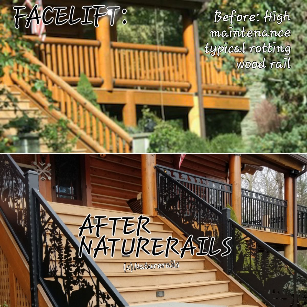 Unique Custom Railing Or Interior Or Exterior Metal Master Artist Rob Gerdin Creates The Vision You Custom Railing Custom Fireplace Screens Railing