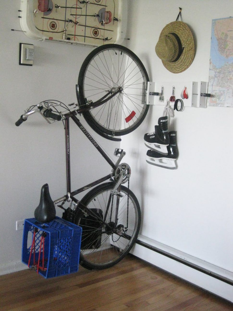 Decoration Ikea Wall Rack Cycle Storage Ideas Indoor Wall Mounted